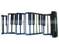 61 Keys Digital Midi Electronic Portable Keyboard Piano Midi Music Flexible Soft Portable Roll-up Gift