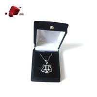 Silver Fashion Lady Silver Necklace Music Symbol Tutenag 18K Platinum Fashion Gift
