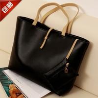 2014 autumn fashion bag buckle all-match elegant one shoulder handbag women's handbag coin pocket
