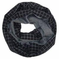 Free shipping C&A  fashion style spring autumn winter neckerchief scarf black grey scarves shawl fashion men women