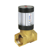 KLQD Q22HD-40 2 way pneumatic piston valves for neutral liquid and gaseous media