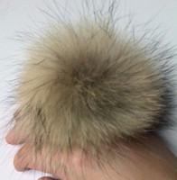 Cap raccoon fur ball 10 fox ball rabbit fur ball accessories pendant hair ball