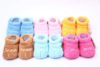 Cotton Lovely Baby Shoes Toddler Unisex Soft Sole Skid-proof Kids girl infant Shoe First Walkers,prewalker 0-12 Months 11.5cm