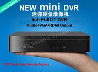 4 Channel DVR Recorder 2CH Audio Output 1CH VGA Output Network DVR P2P Cloud Tech Easy Remote Access CCTV Standalone DVR HDMI