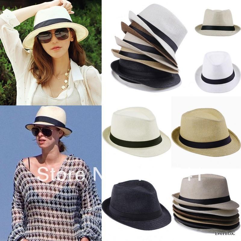 Straw Beach Hats For Men Beach Sunhat Sun Straw Hat