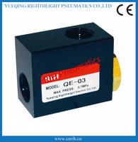 QE-03best pneumatic Quick exhaust valve  3/8''  china factory