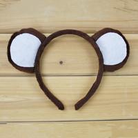 25g ball animal headband halloween hair accessory hair accessory monkey headband