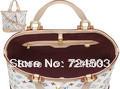 Free shipping hot fashion classic three-color women's leather handbags sochic m93212 m93213 m93214 m93215
