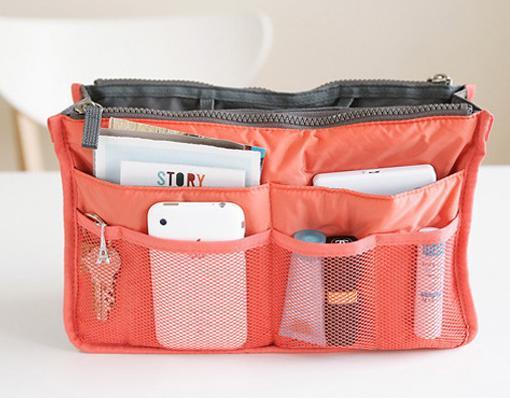 New 2014 Nylon Multifunction Make up Organizer bag Women Cosmetic bags Ourdoor Travel Bag Handbag Bolsas Free shipping()