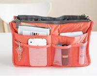 New 2014 Nylon Multifunction Make up Organizer bag Women Cosmetic bags Ourdoor Travel Bag Handbag Bolsas Free shipping