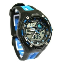 Cool Men's Diving Waterproof Outdoor Top Quality Brand Sports Digital bicycle Watches 5 Color With PU StrapAAAAAAAAA