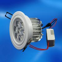 3 years warranty epistar led 110v 220v 7w led downlight