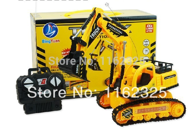 2014 Direct Selling Hot Sale Ready-to-go 2-4 Years Remote Control Excavator!rc Super Excavator - !wireless Rc Toy!radio Vehicles(China (Mainland))