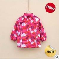2014 New arrivel Germany Brand topolino Children fashion outerwear Kids girl sport autumn coat outdoor jacket Free shipping