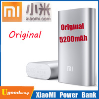 Portable Original Xiaomi Power Bank 5200mAh Mobile Smartphone Charger For Xiaomi M2A M2S M3 Red Rice Hongmi Cell Phone
