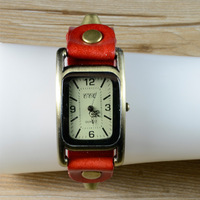 2014 the new silver edge glass 238 women fashion watch, leather strap belt buckle wristwatches,free shipping!