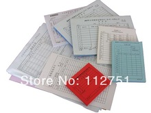 A5 duplicated carbonless receipt book customized(China (Mainland))