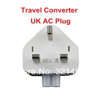 5pcs/lot Universal AC Travel Power Adapter UK Plug Head Converter For Apple Macbook Pro iPad iPhone Free Shipping