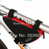 2014 new Cycling Bike Carbon Fiber Leather Bicycle Rear Rack Seat Pannier Bag Pouch 10L