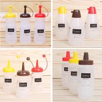 Wholesale:Multifunctional sauce bottle jam sauce pot,salad bottle honey pot,small size 220ml,100pcs/lot