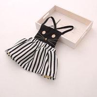 2014 children clothing baby girl's dress fashion lovely dress cat free shipping