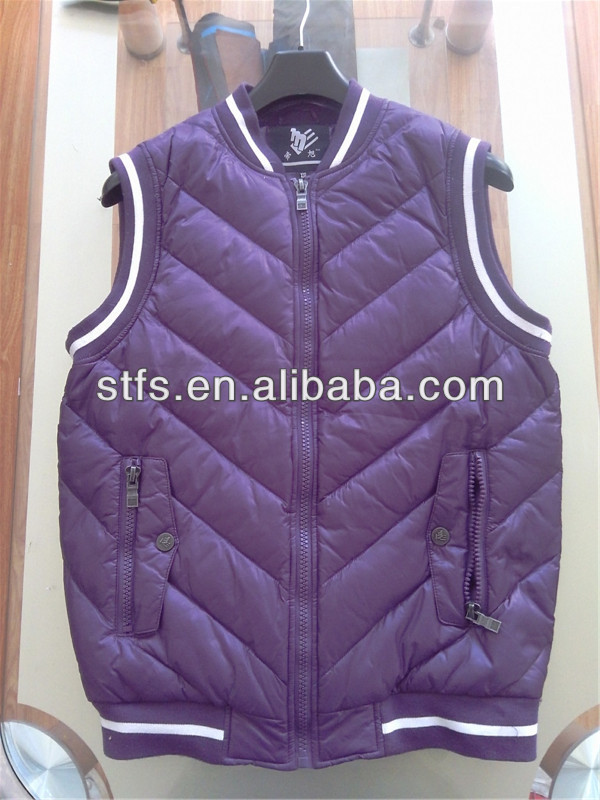 2014 newest men jacket without sleeve(China (Mainland))