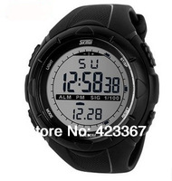 2015 Brand Mens Sports Watches Led Light Waterproof 50m Multi Function Outdoor Military Chronograph Digital Watch Fashion New