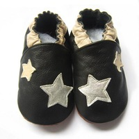 star design boy design genuine leather baby  shoes