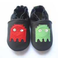 boy design genuine leather baby  shoes