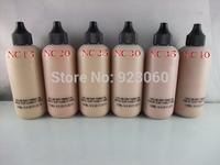 Free HK Post~Professional New Brand Makeup Face And Body Foundation Fond De Teint 120ml (2pcs/lot ) Hot!(NC15 20 25 30 35 40)