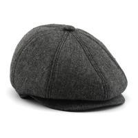 2014 New Arrival Fashion stylle Men Unisex Peaked cap Face warm cap Beret man Peaked cap man hat  free shipping