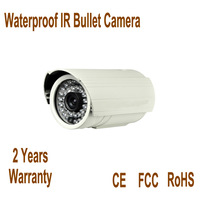 waterproof 1/3 sony ccd 700tvl 3.6mm lens bullet camera