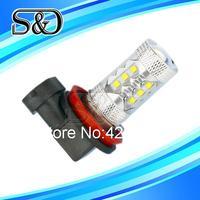 Cree LED H11 80W DRL White Lamp car Fog Head Bulb auto Vehicles parking Turn Signal Reverse Tail Lights car light source