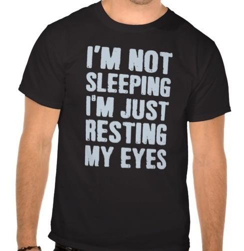 Custom i am not sleeping Black T Shirts For Man Custom Boys and girls 100% Cotton Diy Shirts Free Shipping(China (Mainland))