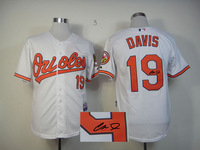 Baltimore Orioles Jersey Signature Edition #19 Chris Davis White Cool Base Baseball Jersey 100% Stitched,Mix Orders