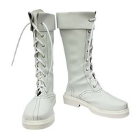 Cosplay Boots Inspired by Street Fighter Chun.Li White     as  Halloween Cosplay shoes