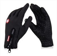 Genuine outdoor windproof gloves bike gloves for male and female full- ride long mittens warm mittens