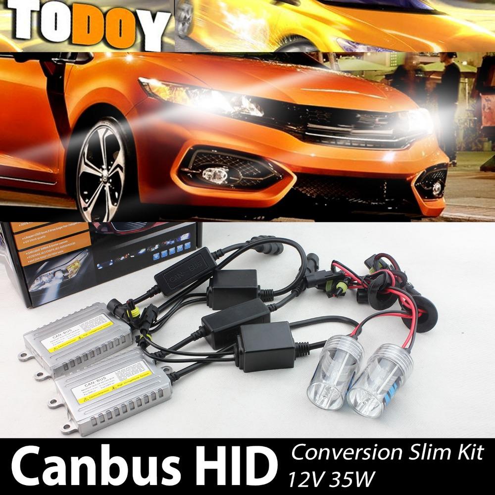 Источник света для авто TODOY 12V 35W Auto CANBUS 3000K /30000k 3 RW7 3 3 300 30000