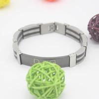 free shipping bracelet for men   jewelry strong  chain 316L Stainless Steel Men's charm bracelets bangles black bracelet