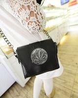 2014 Fashion Four Leaf Clover Chain 5 Colors PU Woman Shoulder Bag Hot Sale Woman Handbag Summer Woman Bags