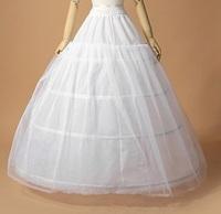 The bride wedding dress pannier elastic waist single tier yarn wedding accessories pannier