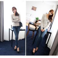 Fashion skinny jeans spring jeans women's denim trousers pencil pants g61