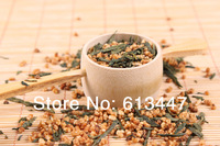 Free Shipping 250g Premium Brown Rice Green Tea Genmaicha Sencha with the rice