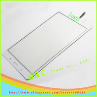 5pcs/lot White touch screen digitizer for Samsung Galaxy Tab Pro 8.4 SM-T321 T321 tablet by hk free shipping+track number