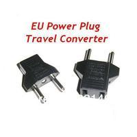 5pcs/lot US to EU Universal Mini Power Switch Plug Socket Converter AC Adapter Free Shipping