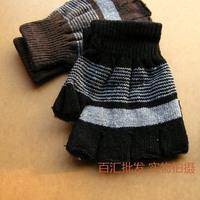 he letter fringe half gloves gloves wholesale normal keyboard typing warm gloves