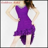 2014 hot sale fashion dress sexy women ladies dress club dress with shining rhinestone free shipping A004