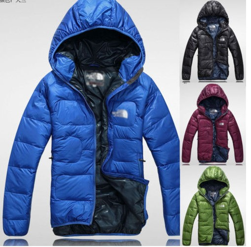 TOP Quality Men's Winter Outdoor Warm down jacket Feather Rong Winter Coat M-XXL(China (Mainland))