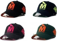 2014 Korea Style Fashion M Explore Wolf Baseball Hats Supreme Snapback Hats YMCMB  Adjustable Caps Free Shipping