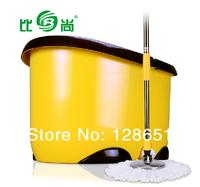 Bishang  genuine magic mop bucket mop  rotating mop dual drive mop